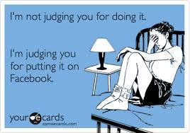 judging facebook