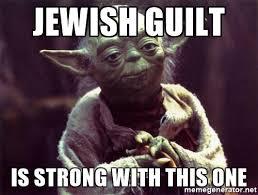 jewish guilt
