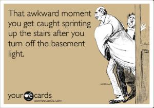 scary basement