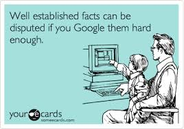 google dispute facts